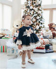 Baby Kid Girl Summer Lace Sleeve Dress Party Wedding Pageant Princess Dresses UK