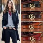Внешний вид - Fashion Women Genuine Leather Belts Jeans Belt With Letter GG Buckle wide 2.8cm