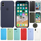pebble phone - Luxury Genuine Silicone TPU Phone Case Cover For Apple iPhone X 8 Plus 7 6s 6