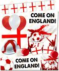 England St George's Day Flag Football Supporters Fun Theme Party World Cup 2018