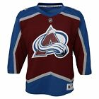 NHL Colorado Avalanche Home Jersey Shirt Top Youth Kids Fanatics $76.33 USD on eBay