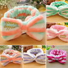 Bow-knot Spa Shower Hairband Head Band Headdress Hair Accessories Makeup Tools