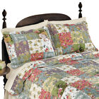 Blossom Floral Patchwork Pillow Sham, by Collections Etc image