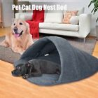 Pet Cat Dog Nest Bed Puppy Soft Warm Cave House Sleeping Bag Mat Pad S M L