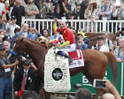 "Justify 2018 Belmont Stakes Winner's Circle Photo 8"" x 10 - 24"" x 30"""