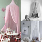 Kids Baby Princess Bed Canopy Bedcover Mosquito Net Curtain Bedding Dome Tent UK