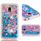 Shockproof Bling Print Liquid Glitter Quicksand Soft TPU Cover Case For Various