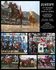 "Justify 2018 Triple Crown Collage Photo 8"" x 10 - 24"" x 30"""