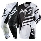NEW A18 ANSWER RACING ELITE BLACK WHITE MENS ADULT MX SX GEAR COMBO JERSEY PANTS