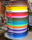 """1 Inch, Webbing, """"Sold By The Yard"""", Your Color Choice, US Made, New"""