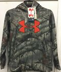 Under Armour Youth Camo Big Logo Hoodie Mossy Oak Treestand, YOUTH M AND L