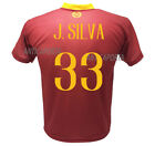 Shirt Jonathan Silva 33 Roma 2019 Official 2018 2019 Official Product