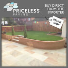 Fossil Mint Indian Sandstone Patio Paving Slabs in Single Sizes PRICE PER SLAB!