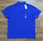 $98 NWT Polo Ralph Lauren Mens Blue Ski Bear Polo Shirt Custom Fit L XL XXL