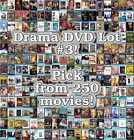 Drama DVD Lot #3: DISC ONLY - Pick Items to Bundle and Save!