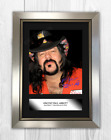 Vinnie Paul Pantera A4 signed mounted photograph poster. Choice of frame.