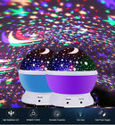 Kids LED Night Lights Star Rotating Projector Nursery Baby Bedroom Starry Lamps