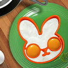 pancake rabbit - Silicone Rabbit Breakfast Fried Egg Mold Pancake Egg Ring Shaper Cooking Tool