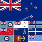 New Zealand Flag 3X6FT Historical Police Naval Army Air Force Civil Banner