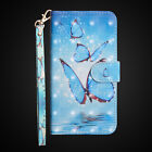 Hot 3D Patterns Leather Magnetic Flip Wallet Stand Case Cover For Various Phone