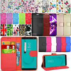 For Samsung Galaxy J6 J600F Phone Case Wallet Leather Cover Book Flip + Stylus