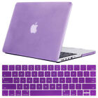 Shockproof Case Shell + Keyboard Cover For Apple Macbook Pro 12* 13* 15* Retina