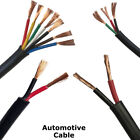 12v 24v Automotive 2/3/4/5 Core Thinwall Red/black Car Cable Wire Round/flat
