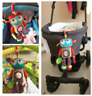 baby toy rattle colorful robot doll safe mirror teether bed pram hang story gift