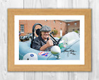 Brian Johnson (3) AC/DC A4 signed photograph poster. Choice of frame