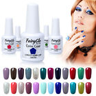 FairyGlo UV LED Gel Nail Polish Top and Base Coat Soak Off M