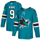 9 Evander Kane Jersey San Jose Sharks Home Adidas Authentic