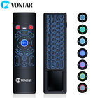 2019 Universal Air mouse mini Keyboard Remote control for Kodi Android TV Box PC