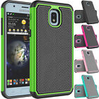 For Samsung Galaxy J3 V 3rd Gen/Prime 2/Star Phone Hybrid Rubber Hard Case Cover