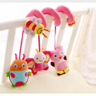 Baby Stroller Toys Infant car and Crib Mobile Spiral Hanging Rattle Plush Toys