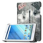 Tri-Fold Flip PU Leather Protective Case + Holder For Acer Iconia One 8 B1-860