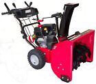 DB7124 24 in. 212 cc 2-Stage Electric Start Gas Snow Blower with Headlight