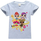 LOL Surprise Puppen Kinder T-Shirts Tops Pullover Hoodie Shorts Outfit Kostüm
