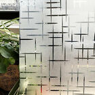 Privacy window film frosted static cling decoration window covering