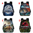HOT Jurassic World Cartoon Backpack Kids Schoolbag Mochila Travel Laptop Bags