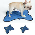 Double-side Suction Cup Fixable Claws Cleaning Doormat Towel for Dog Cat