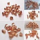 Rose Gold Spacer Beads, Various Designs, Pack Of 20, Jewellery Making
