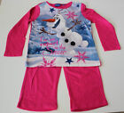 Pyjama Set Nightclothes Girl Disney Frozen Ice Queen Pink 104 110 116 128 #60
