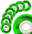 HYPER CONCRETE+G wheels 80mm/84A - 4 WHEELS - GREEN // inline skates wheels