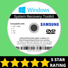Samsung Windows 10 8 8.1 7 Vista XP Recovery Repair Disc USB Reinstall Software