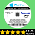 Panasonic Windows 10 8 8.1 7 Vista XP Recovery Repair Disc USB Reinstall OS