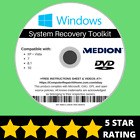 Medion Windows 10 8 8.1 7 Vista XP Recovery Repair Disc USB Reinstall Software