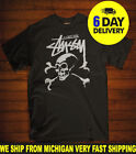 designs for t shirt - Stussy T Shirt Design 30th Annivers for Mens - Stussy Funny Tshirts 100% Cotton.