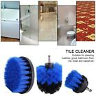 3PCS Drill Cleaning Brush Tool For Bathtub Grout Bathroom Floor Toilet Durable