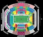 2 Jaguars Colts Tickets...TRUE FRONT ROW CLUBS 35 yard line