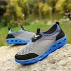 New Mens Summer Net Breathable Shoes Slip On Outdoor Sports Camping Light shoes